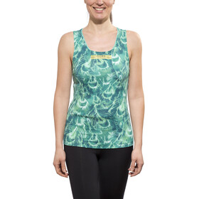 GORE RUNNING WEAR AIR PRINT - Débardeur running Femme - turquoise